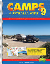 Hema Camps 9 Australia Wide with Camps Snaps Spiral Bound B4 Book Guide