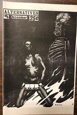 ALTERNATIVES #5 1972 Fanzine reviews like GEORGE, Mac-an-t-saoir cover & article