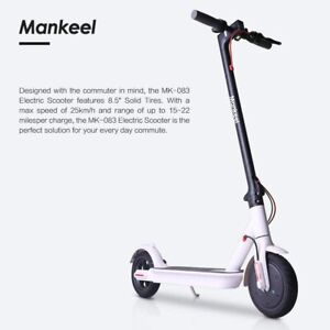10 x Mankeel MK083 PRO Electric Scooter 350W High Power Smart 8.5'' Wheel