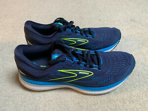 Brooks Glycerin 19 men's running trainers   blue/yellow   size 9   new
