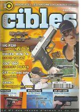CIBLES N°448 SIG P220 COMPACT 45 ACP / RUGER MINI 14 RANCH TARGET / COLT 1860