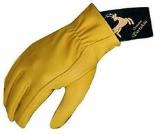 Mens Working SmartphoneTouch Screen Deerskin Leather Gloves