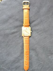 Wrist Watch, TISSOT, Unisex, Square Design, Good Function