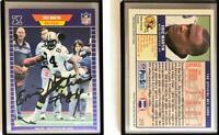 Eric Martin Signed 1989 Pro Set #272 Card New Orleans Saints Auto Autograph