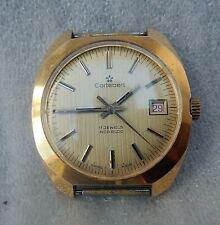 Vintage SWISS made CORTEBERT 17 Jewels Men's Watch 70's 39mm