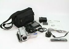 JVC Everio GZ-MG334HEK 30GB HDD Camcorder Silver, 2x Batteries, Charger, Case
