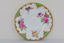 VINTAGE CHINA Aynsley Tudor Green Tea Saucer - GREAT COND - NEXT DAY DISPATCH