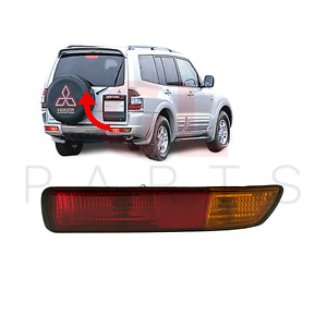 FOR MITSUBISHI PAJERO MONTERO SHOGUN 00-03 REAR BUMPER FOG LIGHT LAMP O/S NEW
