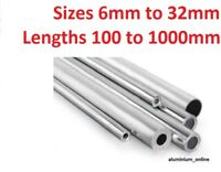 ALUMINIUM ROUND TUBE 6mm to 32mm