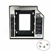 Universal 9.5mm SATA 2nd HDD SSD Hard Drive Caddy for CD/DVD-ROM Optical Bay 1Pc