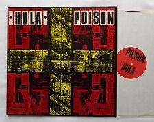 "HULA Poison + Club Mix version UK 12"" RED RHINO (1986) Cold Wave EBM - NEW!"