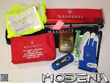 Maserati Primeros Auxilios Ayuda de Emergencia Kit Juego Avería Warndreieck