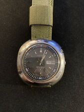 Rare 1971 Seiko Bellmatic Automatic Alarm Watch 4006-6002 UFO Stainless Case