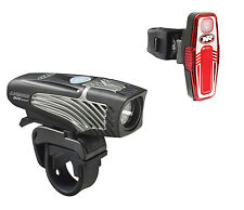NiteRider Lumina 900 Boost Headlight Bike Light Lumen USB + Sabre 80 Taillight