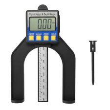 Lcd Digital Height Amp Depth Gauge Vernier Ruler With Magnetic Feet Self Standing