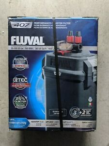 Fluval A449 100gal Perfomance Canister Filter - Black 407