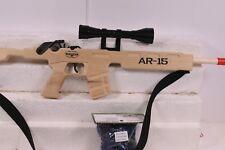 MAGNUM RUBBER BAND GUNS AR-15  W/ SCOPE & SLING  GL2AR15SS PLUS AMMO