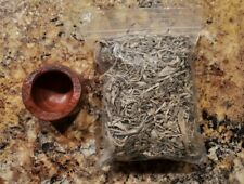 New listing Catlinite - Smudge Burner- Sage - Pipestone - Lakota - Sioux - Alan Monroe