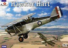 HAWKER HART I - LIGHT BOMBER W/KESTREL ENGINE (RAF MARKINGS)#240 1/72 AMODEL