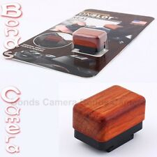 OnSlot On-Hot Shoe LCD Screen Cleaner Rosewood Black for Canon Olympus camera