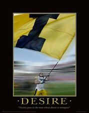 Iowa Hawkeyes Football Motivational Poster Kinnick Stadium Robert Gallery  MVP06