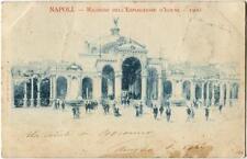 1902 Napoli - Ricordo dell'esposizione d'igiene 1900 - FP B/N VG ANIM