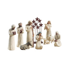 Demdaco Willow Tree 10 pc. Nativity Set - New in Stock - Lowest Price