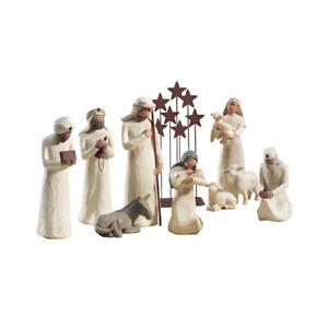 Demdaco Willow Tree 10 pc. Nativity Set - New in Stock - Lowest Price
