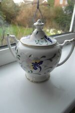 Coalport Pageant Lidded Sugar Bowl Fine Bone China 1st Quality British