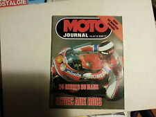 moto journal n457 24avril1980 80montesa enduro 24 heures du mans