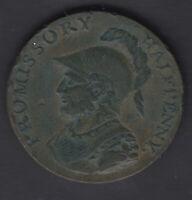 Currency half Penny Conder Token Hampshire Pro Bonus Public Promissory 1794