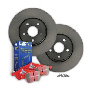 FRONT BRAKE ROTORS + EBC PADS for AUDI A5 8T 2.0T *1LA 320mm 2008-2012 RDA8009