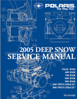 2005 Polaris Deep Snow Service Manual  FAST ACCESS (RMK, Switchback, Trail)