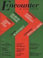 ENCOUNTER MAGAZINE (September 1963) PROFUMO-NAIPAUL-CAROLYN KIZER-WYNDHAM LEWIS