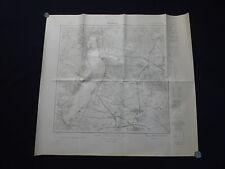 Landkarte Meßtischblatt 3750 Herzberg, Bad Saarow, Wend. Rietz, Pieskow, 1945