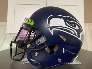 2019 Seattle Seahawks Game Used Mychal Kendricks Helmet Worn 11.11.19 Vs 49ers
