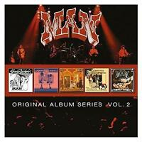 MAN Vol. 2 5CD NEW Greasy Truckers/Live At Padget/Back Into/Christmas/Maximum