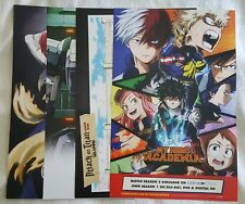Anime Expo My Hero Academia Attack on Titan Junior High Etc Poster
