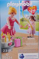 PLAYMOBIL Play+Give 70334 Patin Patentante + Patentochter Mädchen Geschenke NEU