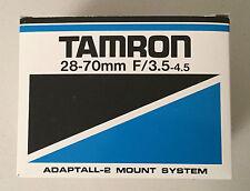 Tamron 28-70mm f/3.5-4.5 CF Lens w/ Sunpack Autozoom 344D