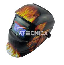 Maschera lcd autoscurante Atecnica MEGA600GF per saldatura elettrodo MIG MAG TIG