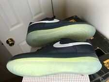 DS Nike Air Force 1 Low Max Air NRG Obsidian/White Gold Medal Rare Classic Sz11