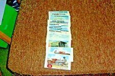A Lot of 38 Doeskin Rails & Sails Cards