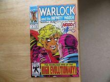 1992 WARLOCK & THE INFINITY WATCH # 3 SIGNED 3X JIM STARLIN, AUSTIN, LEONARD POA