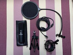Mikrofon Auna MIC 900B inkl Popschutz und Tischständer | Sehr guter Zustand