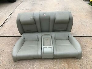 03 04 G35 Infiniti Rear Seat Tan