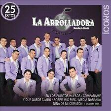 Iconos 25 Éxitos by La Arrolladora Banda el Limón de René Camacho (CD 2 Discs)