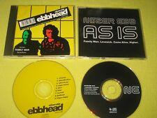 nitzer ebb ebbhead CD Album & AS IS CD Single Industrial Electronic Synth Pop