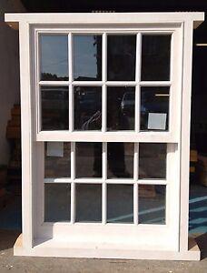 Traditional Timber Wooden Georgian Sliding Sash Window! Double Glazed! Bespoke!