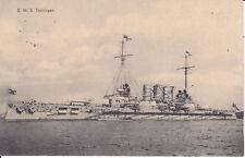 AK Großkampfschiff Kriegsschiff S.M.S. Thüringen / Feldpost 1914